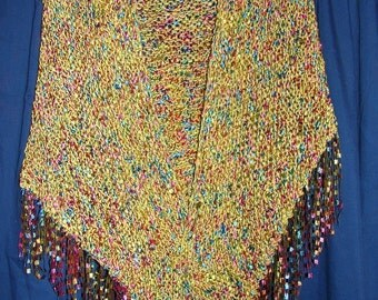 Self Fringed Shawl