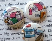 Paint and Ink Pins