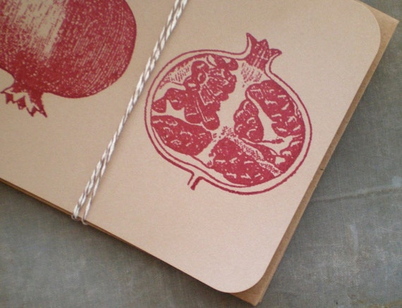 Pomegranate Notes - Set of 2