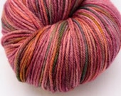 Rose Fingering Weight Merino Yarn