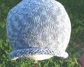 SALE-Lavender Baby Girl Beanie Hat 12-24 mo