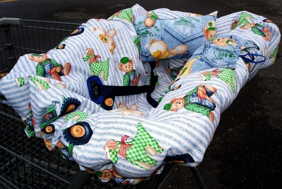Ez Shopping Cart Cover Instructions Pattern With Free Bonus