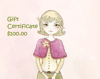 Happiknits Gift Certificate One hundred dollars