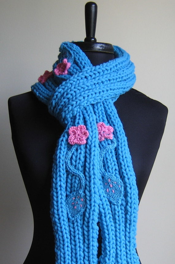 Love in Bloom scarf-READY2SHIP