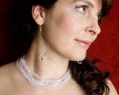 Organza Crystal Bridal Necklace