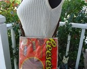 Cool REESES Bag Purse Pouch Eco Friendly  Recycled Candy Bag