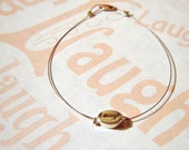 Laugh... Bracelet - remind someone of the important things in life(etsy)