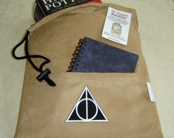 Deathly Hallows, Comic, Magazine, Bag, Book-Sleeve (etsy)