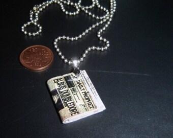 Mini 'Daily Prophet' Necklace - etsy