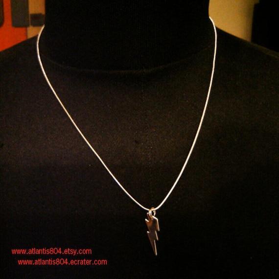 Harry Potter Lightning Bolt Necklace (etsy)