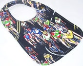 Baby Bib - THE PELOTON Cycling Minky Baby Bib
