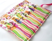 OWLS Crayon Roll Up