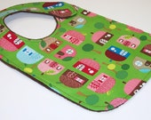 Baby Bib - APPLE TREE LANE Minky Bib
