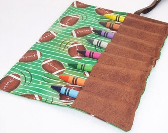 Crayon Roll - FOOTBALL Crayon Roll Up