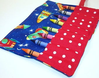 Crayon Wrap, ROCKET POWER Crayon Roll Up, Kids Stocking Stuffer