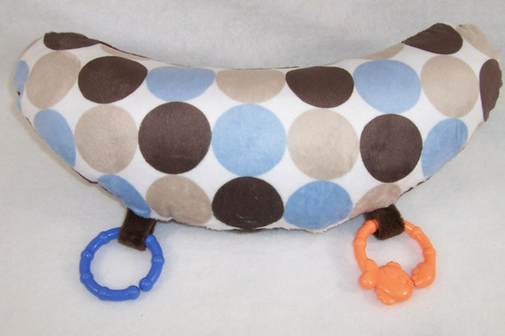 Baby Pillow - PREPPY DOTS Tummy Time Support Pillow