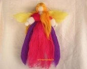 THIS ITEM IS RESERVED TO SHELLEYCASKEY-Fairy-wool blessing fairy made of natural materials