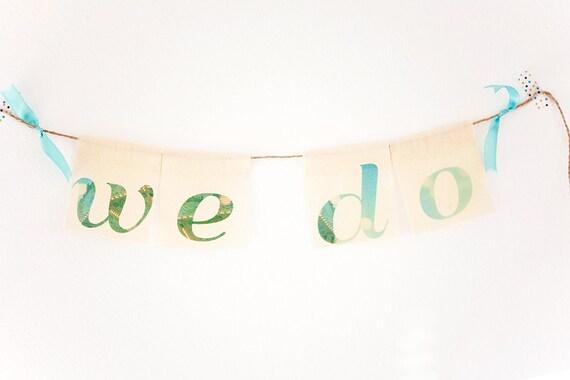 we do . fabric garland