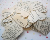 Vintage Shakespeare Heart Punches