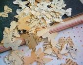 Vintage Wedding Decor - Vintage Butterfly Confetti