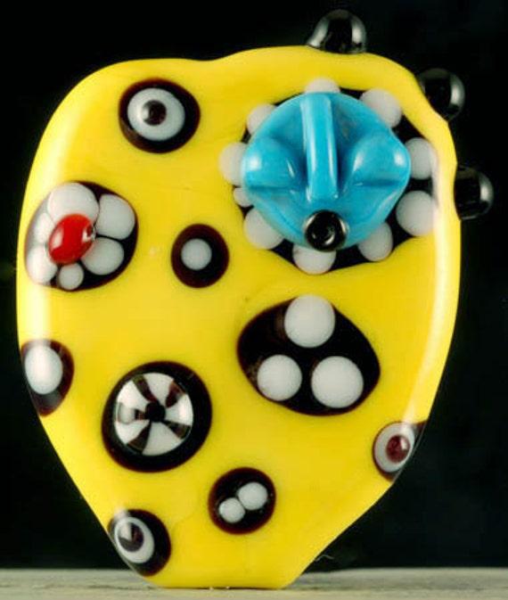 Laurie Geller Handmade Glass Lampwork Bead...BEADOLOGY....SRA