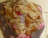 Home Decor Mannequin French Toile Lilac Dress Form - Estelle