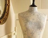 Bedroom Decor Display Mannequin Dressform Kate Forman English Rose Linen - Kate in Blue