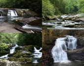 Four Card Water Fall Set 1