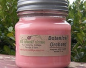 BOTANICAL ORCHARD SOY Candle - Highly Scented 8 oz. Jar