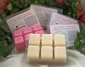 9 PACKS SOY TARTS / Melts - Highly Scented - Strong - Vanilla, Apple, Cinnamon, Fresh, Clean, Citrus, Floral, Fruit, Spice, Herbal