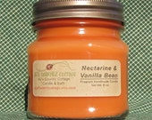 NECTARINE VANILLA BEAN Candle - Highly Scented - Strong - New - AJsCountryCottage
