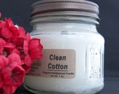 CLEAN COTTON CANDLE - Strong - Fresh and Clean
