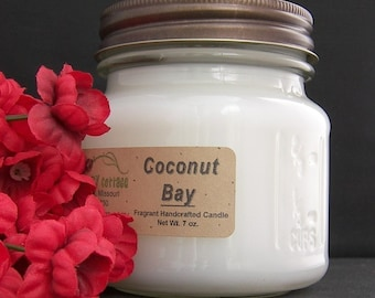 COCONUT BAY type CANDLE - Strong - Suntan Lotion