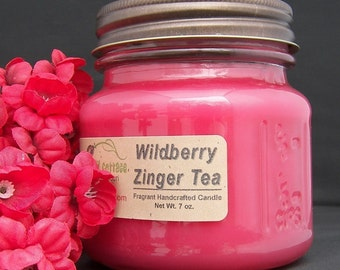 WILDBERRY TEA CANDLE - Strong