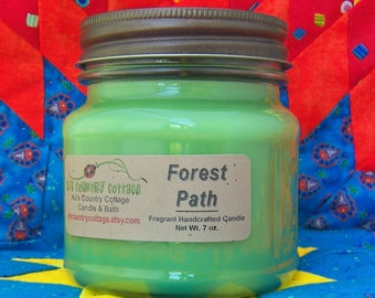 FOREST PATH CANDLE - Strong - Fresh Greenery Woods