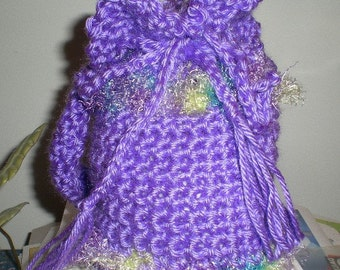 Bags, Mini-bags, Purple, Girls, Accessories, Crochet