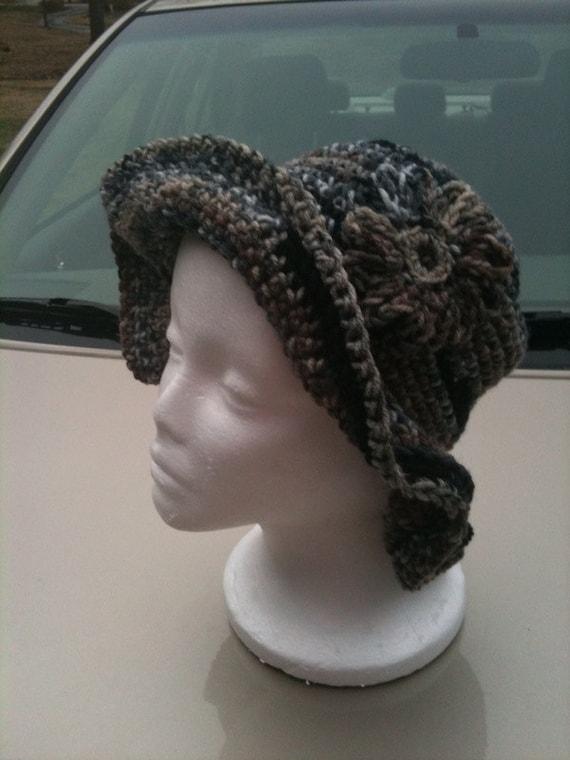 Hat, Crochet, Crochet Hat, Brimmed Hat, Accessories, Women, Girls, Hats, Fashions, Multi color