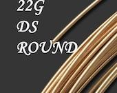 5 Feet 22 Gauge Dead Soft Round 14kt Gold Fill Wire