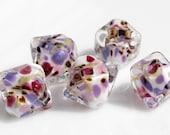 Reserved Listing. Encased Handmade Lampwork Beads SRA