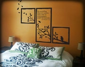 Seasons Quote Wall Decal - LARGE 40x40
