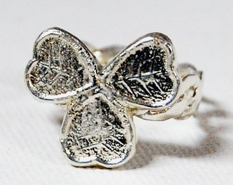 Lucky Charm Sterling Ring Size 7