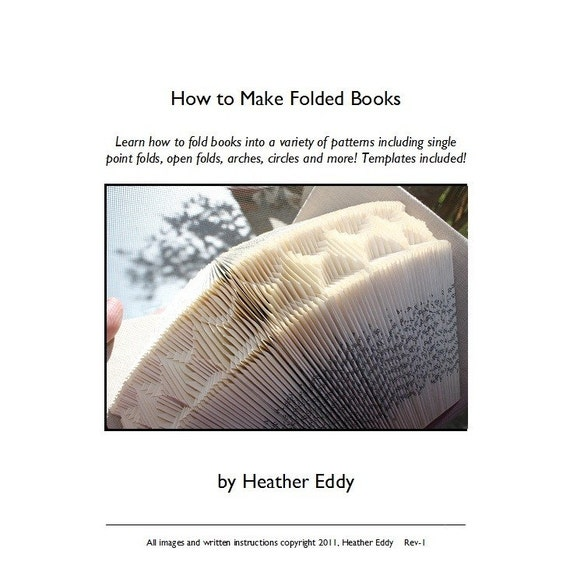 Basic Folded Book Tutorial