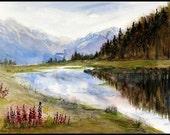 Limited Fine Art Print Reflections near Portage