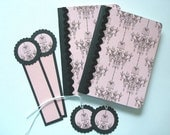 Mini Altered Notebooks with Bookmarks and Tags (set of 2) - donated by BellaRoseCraft to ASPCA