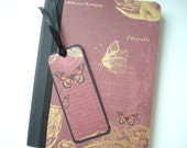 Altered Composition Notebook with Bookmark - donated by BellaRoseCraft to ASPCA