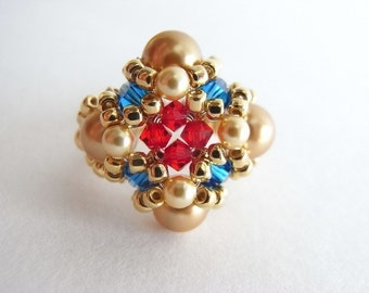 Bejewelled Ring Tutorial TWR031