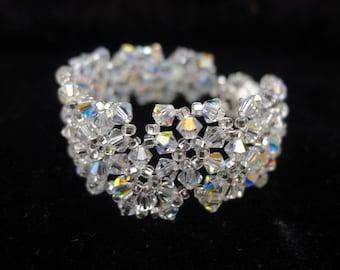 Crystal Cuff Bracelet Tutorial TWR074