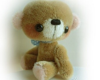 POCCA - OOAK anime bear epattern by Jenny Lee of jennylovesbenny bears PDF