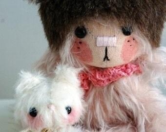 MOMOKO bear pattern - by bear artist Jenny Lee of Jennylovesbenny bears PDF