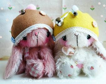 Japanese large anime bunny Tooti by Jenny Lee of jennylovesbenny artist bears PDF